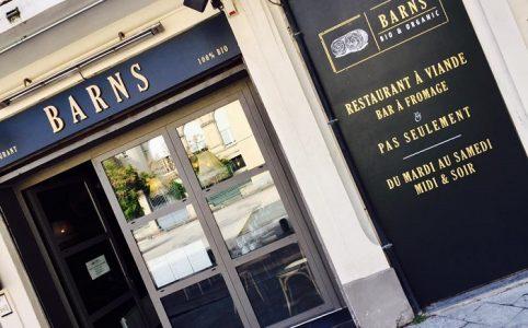 J'ai testé pour vous le restaurant bio à Nîmes, le BARNS