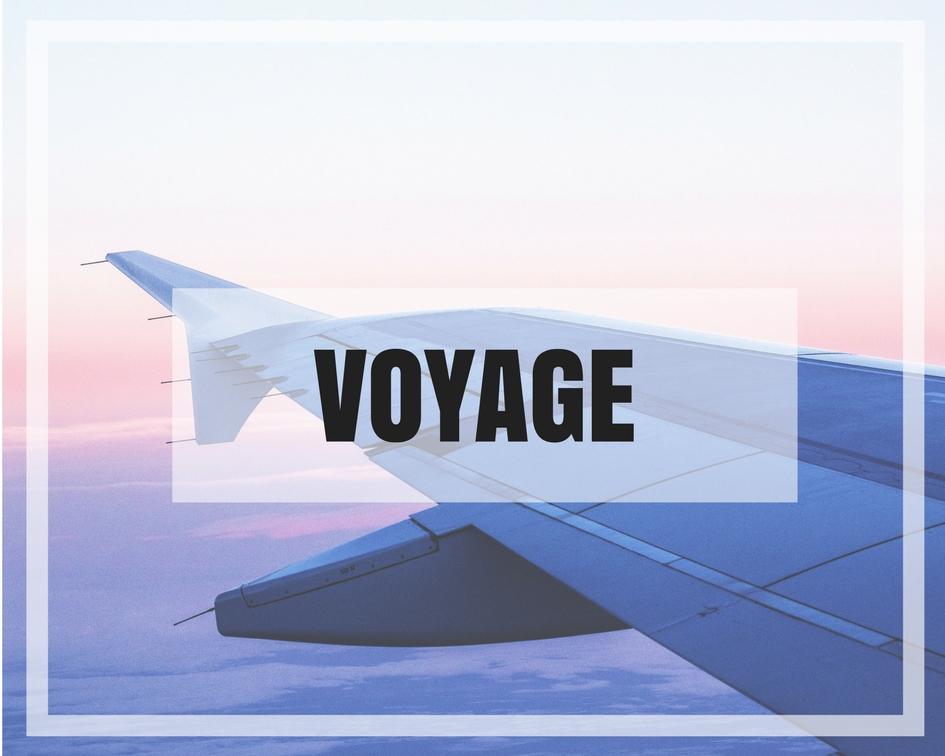 Je découvre les articles voyage