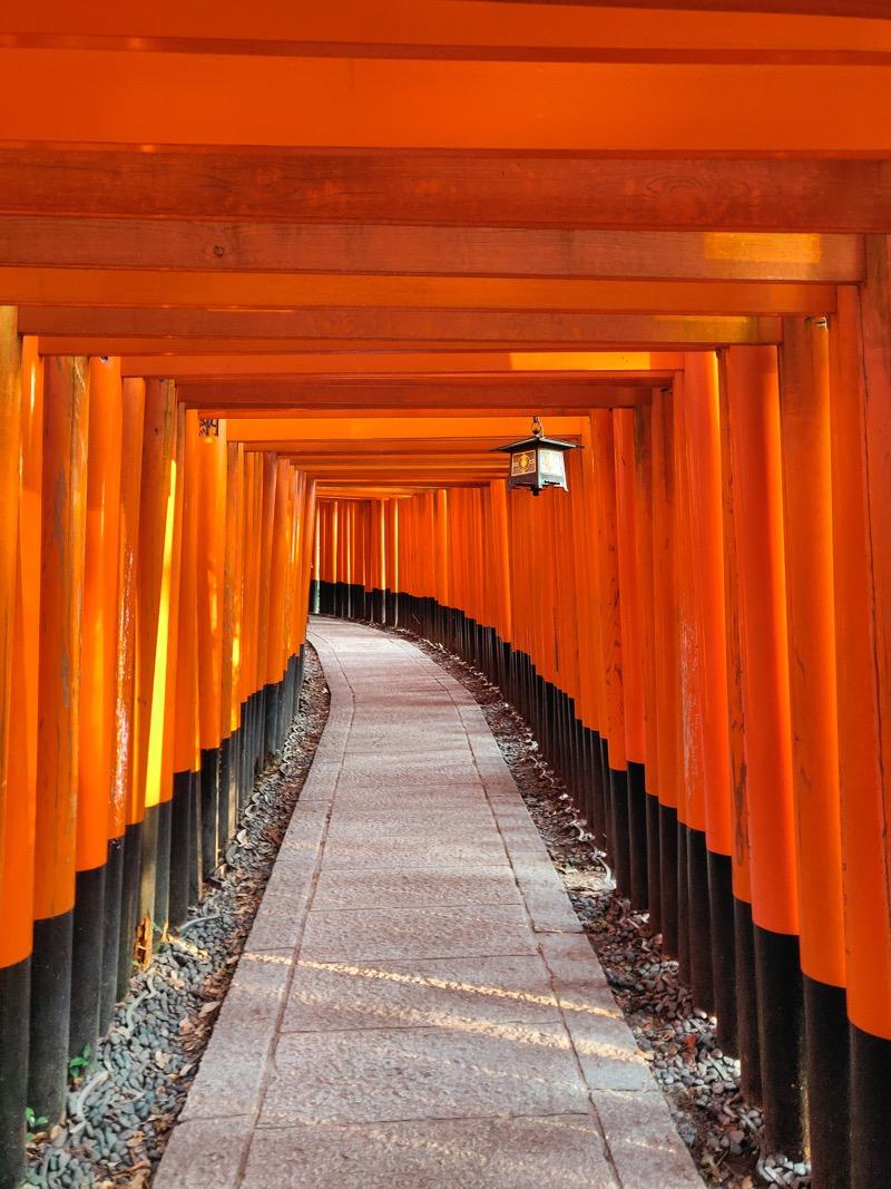 Fushimi Inari Taisha Joris kyoto japon