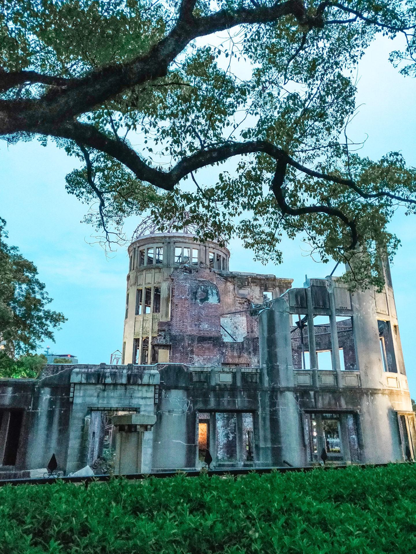 Dome Genbaku Hiroshima japon